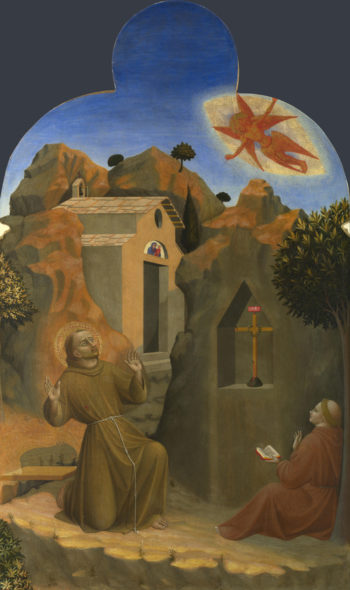 The Stigmatisation of Saint Francis | Sassetta | oil painting