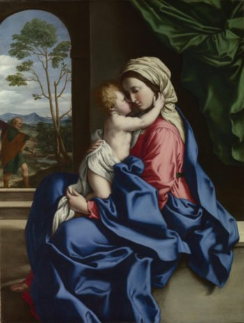 The Virgin and Child Embracing | Sassoferrato | oil painting