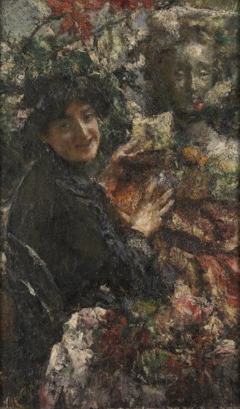 Aurelia | Antonio Mancini | oil painting