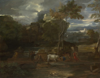 The Return of the Ark   Sebastien Bourdon   oil painting