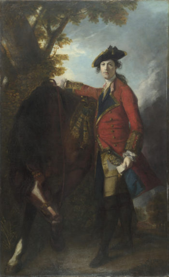 Captain Robert Orme | Sir Joshua Reynolds | oil painting