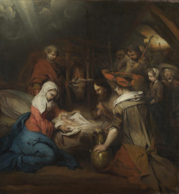 The Adoration of the Shepherds | Barent Fabritius | oil painting
