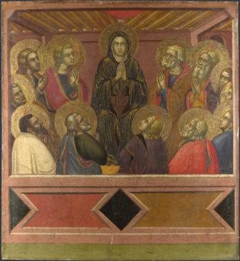 Pentecost | Barnaba da Modena | oil painting