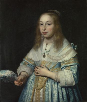 Portrait of a Girl | Bartholomeus van der Helst | oil painting