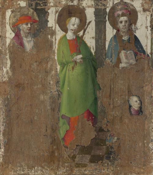 Three Saints (1) | Stephan Lochner | oil painting