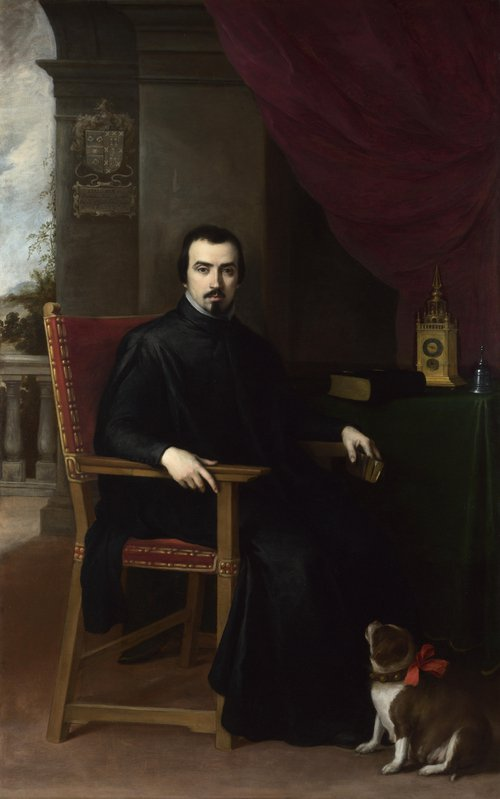 Portrait of Don Justino de Neve | Bartolome Esteban Murillo | oil painting