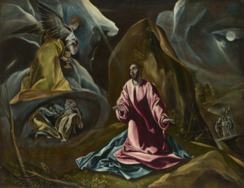 The Agony in the Garden of Gethsemane | Studio of El Greco | oil painting