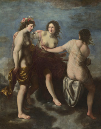 The Three Graces | Studio of Francesco Furini | oil painting