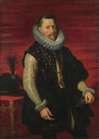 Portrait of the Archduke Albert | Studio of Peter Paul Rubens | oil painting