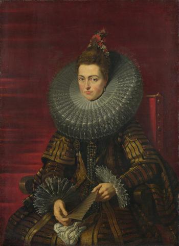 Portrait of the Infanta Isabella | Studio of Peter Paul Rubens | oil painting