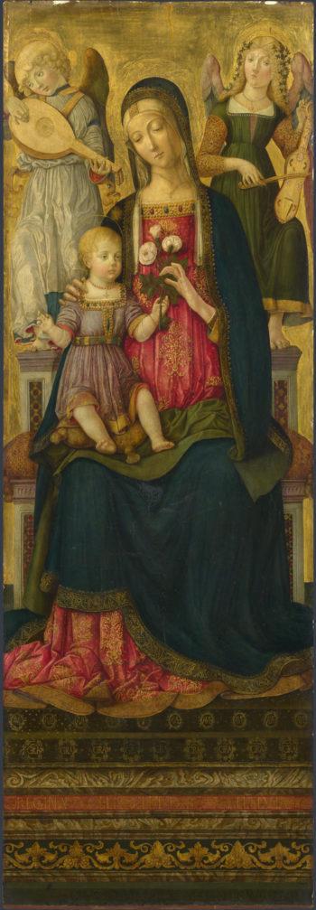 The Virgin and Child (1)   Benvenuto di Giovanni   oil painting