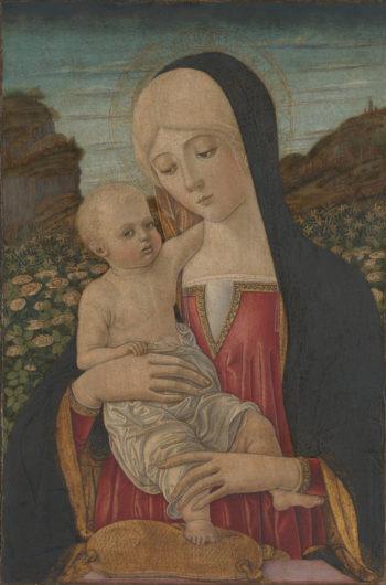 The Virgin and Child | Benvenuto di Giovanni | oil painting