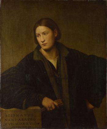 Portrait of Stefano Nani | Bernardino Licinio | oil painting