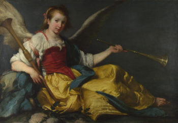 A Personification of Fame | Bernardo Strozzi | oil painting