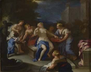 The Toilet of Bathsheba | Style of Luca Giordano | oil painting