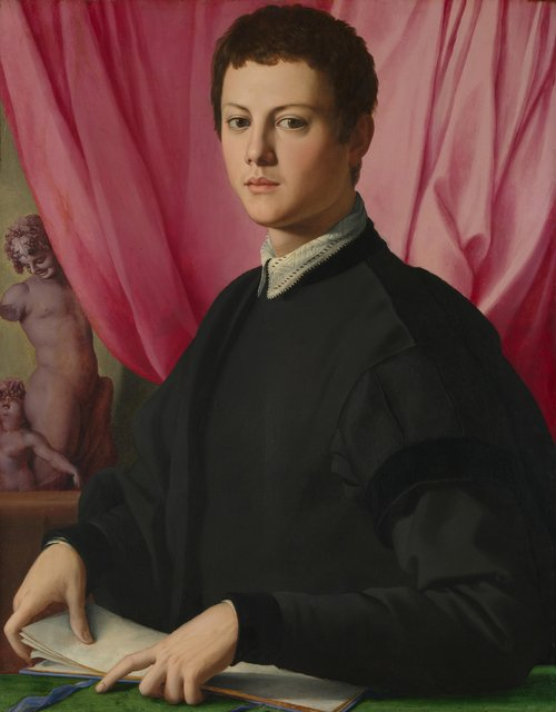 Portrait of a Young Man | Bronzino | oil painting
