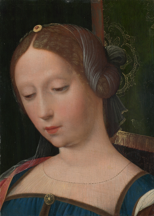 A Female Head | the Workshop of the Master of the Female Half-Lengths | oil painting