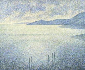 Coastal Scene | Theo van Rysselberghe | oil painting