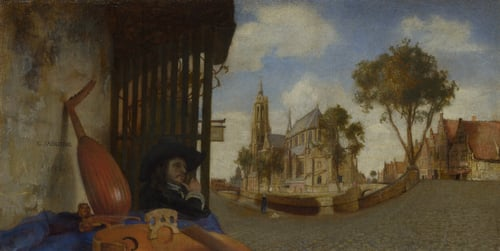 A View of Delft | Carel Fabritius | oil painting