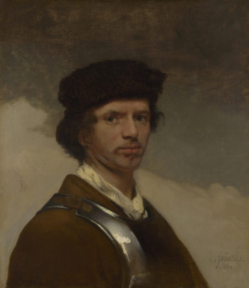 Young Man in a Fur Cap | Carel Fabritius | oil painting