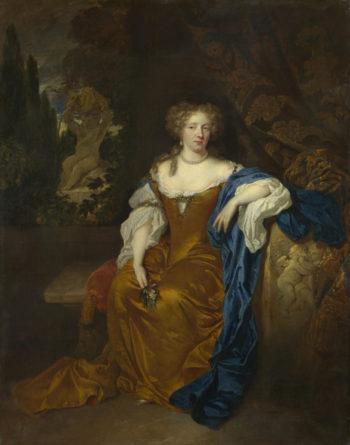 Portrait of a Lady | Caspar Netscher | oil painting