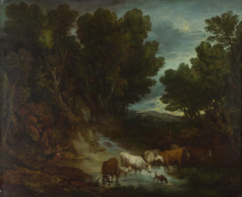 The Watering Place | Thomas Gainsborough | oil painting
