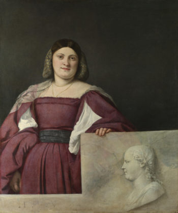 Portrait of a Lady (La Schiavona) | Titian | oil painting