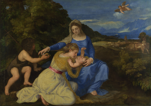 The Aldobrandini Madonna | Titian | oil painting