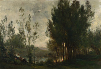 Willows | Charles-Francois Daubigny | oil painting