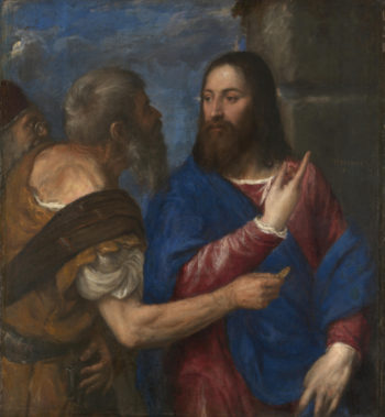 The Tribute Money | Titian | oil painting