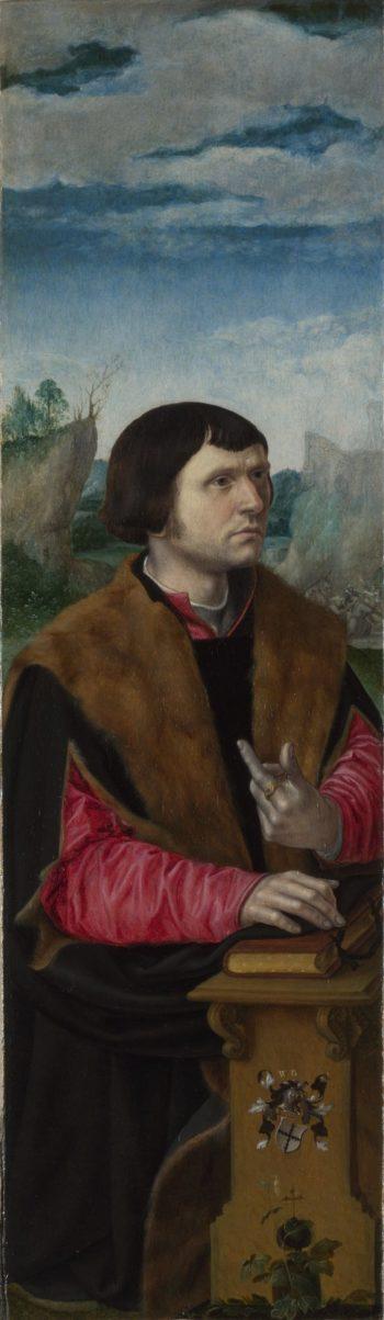 Donor | Circle of Pieter Coecke van Aalst | oil painting