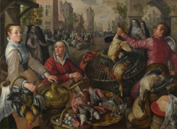The Four Elements Air   Joachim Beuckelaer   oil painting