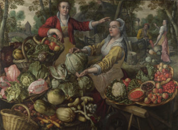 The Four Elements Earth | Joachim Beuckelaer | oil painting
