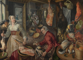 The Four Elements Fire   Joachim Beuckelaer   oil painting