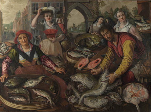 The Four Elements Water | Joachim Beuckelaer | oil painting