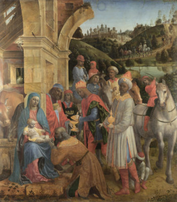 The Adoration of the Kings | Vincenzo Foppa | oil painting