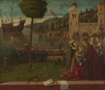The Departure of Ceyx | Vittore Carpaccio | oil painting