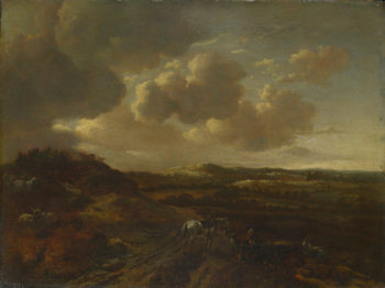 A Dune Landscape | Willem Buytewech the Younger | oil painting