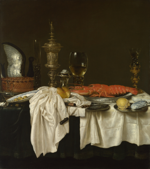 Still Life with a Lobster | Willem Claesz. Heda | oil painting