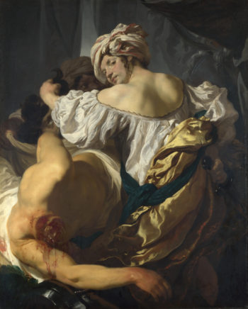 Judith in the Tent of Holofernes | Johann Liss | oil painting