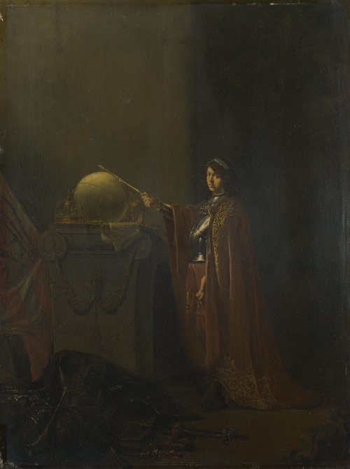 An Allegorical Subject (The Just Ruler) | Willem de Poorter | oil painting
