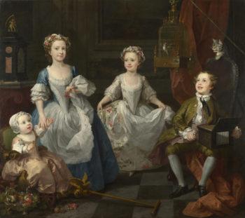 The Graham Children | William Hogarth | oil painting