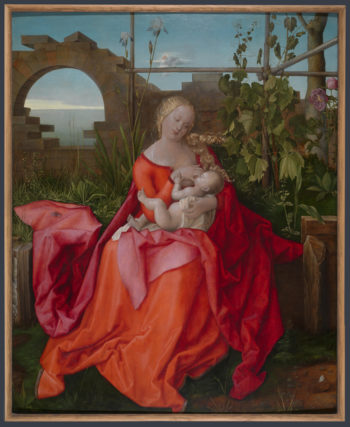 The Virgin and Child (The Madonna with the Iris) | Workshop of Albrecht Durer | oil painting