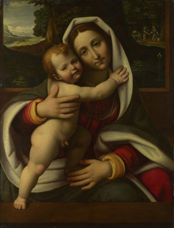 The Virgin and Child | Workshop of Andrea Solario | oil painting