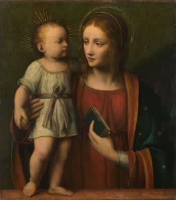 The Virgin and Child | Workshop of Bernardino Luini | oil painting