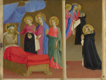 The Vision of the Dominican Habit | Workshop of Fra Angelico | oil painting