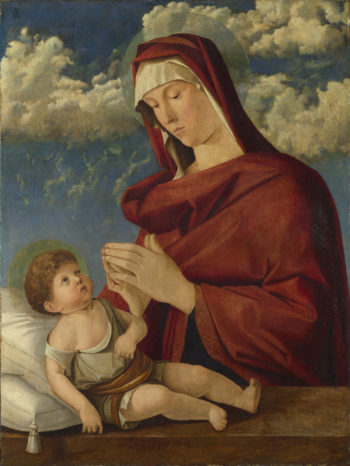 The Virgin and Child (1) | Workshop of Giovanni Bellini | oil painting