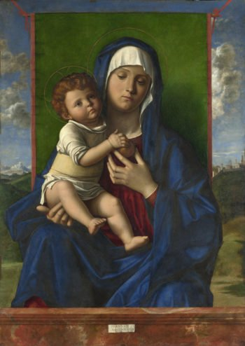 The Virgin and Child | Workshop of Giovanni Bellini | oil painting