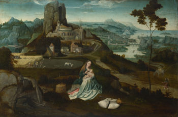 Landscape with the Rest on the Flight into Egypt | Workshop of Joachim Patinir | oil painting