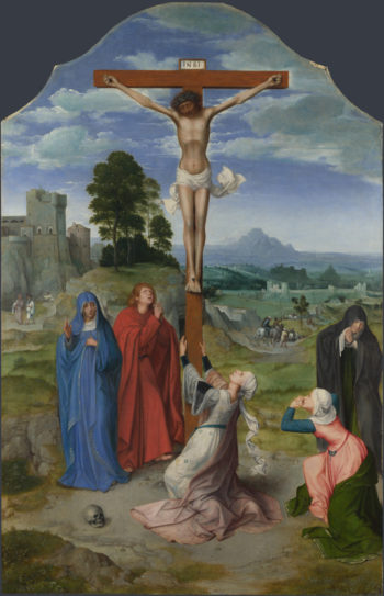 The Crucifixion | Workshop of Quinten Massys | oil painting